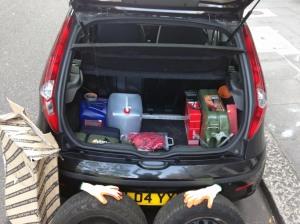 Fiat trunk